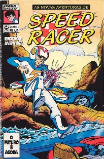 AS NOVAS AVENTURAS DE SPEED RACER nº002 - EDITORA ESCALA